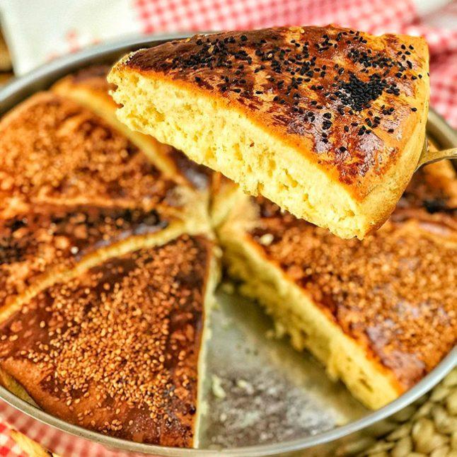 Peynirli Kolay Ekmek