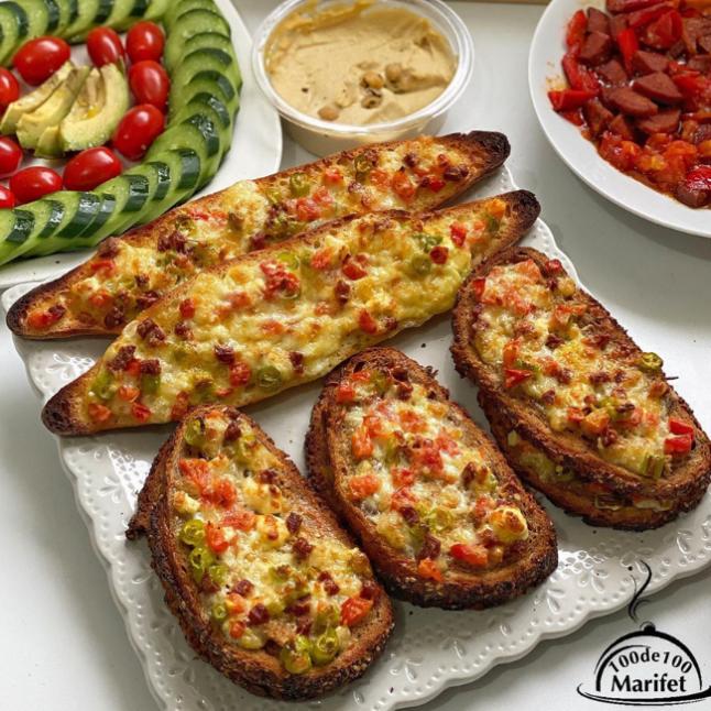 Bayat Ekmek Pizzası
