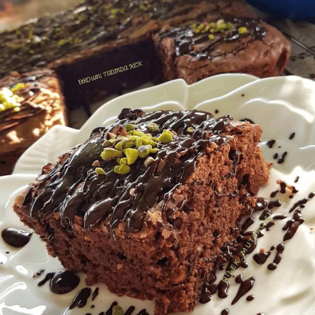 Browni Tadında Kek