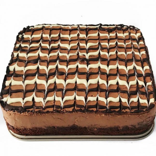 Çikolatalı Köpük Pasta