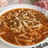 Erişteli Mercimek Çorbası