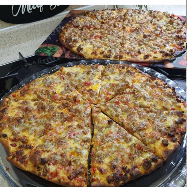 Kuş Başılı Pizza