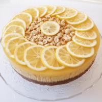 Limon Soslu Cheesecake