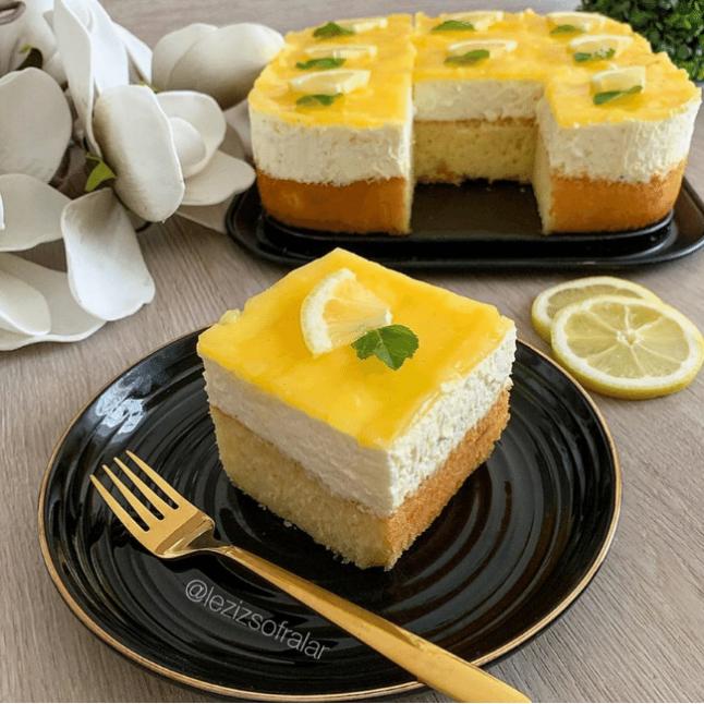Limonlu Yaz Pastası