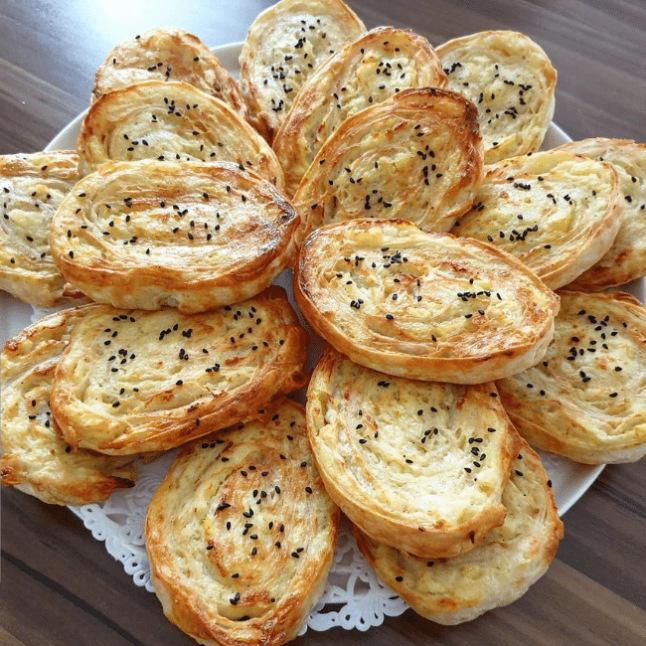 Patatesli Yufka Böreği