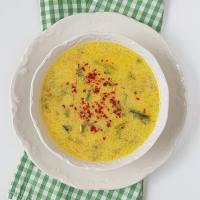 Sütlü Ispanak Kökü Çorbası