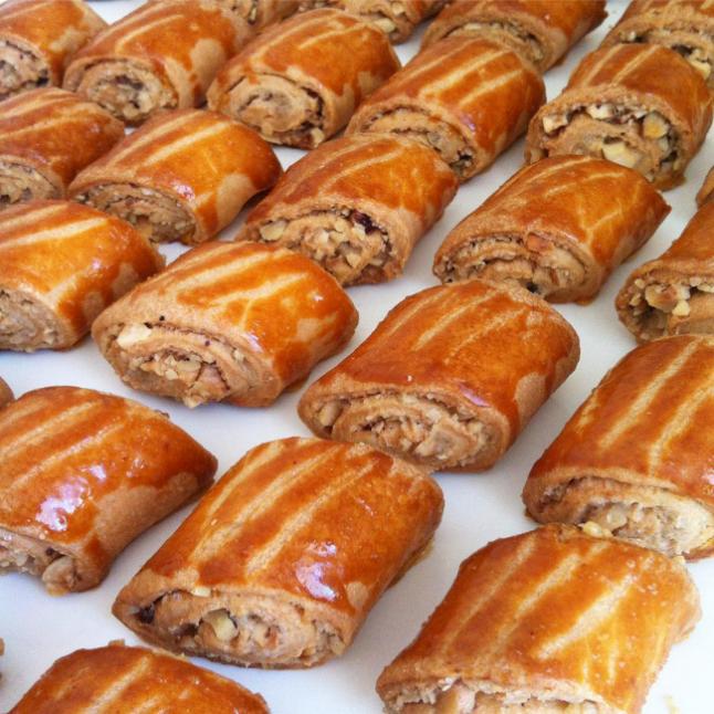 Tahinli kesme kurabiye
