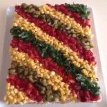 Etimekli salata pastası