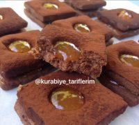 Kakaolu marmelatlı kurabiye