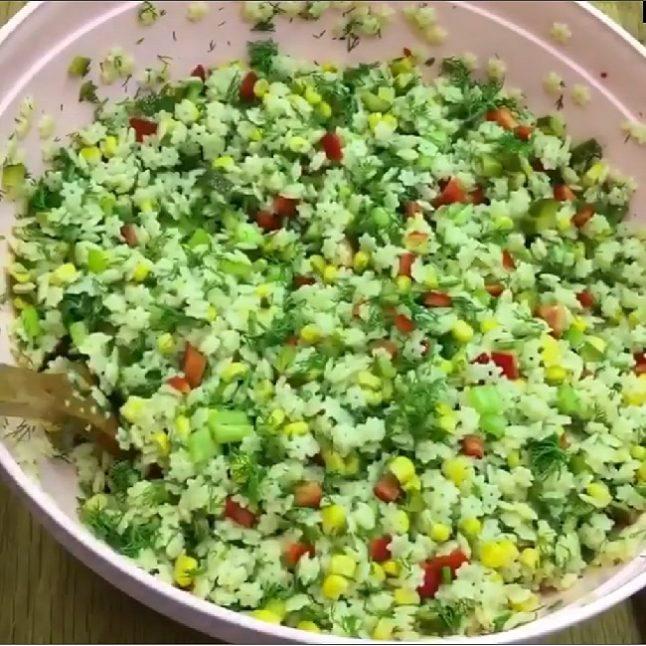 Şehriyeli salata