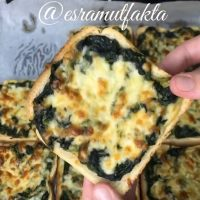 Ispanaklı tost